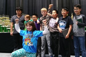 Team members at the 2015 State Championships in Spokane